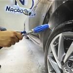 Mangueira aço 12 Metros Engate Rapido e Snow Foam Nação Detail Aluminum Karcher HD 5/11